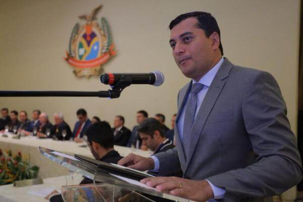 governador Amazonas, Wilson Lima